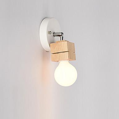 Enkel Moderne / Nutidig Vegglamper Til Metall Vegglampe 110-120V 220-240V 60W