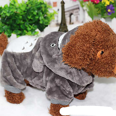 Cat Dog Costume Dog Clothes Casual/Daily Cartoon Costume For Pets