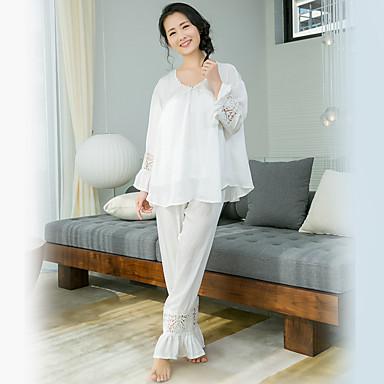 Women's Suits Nightwear Solid-Medium