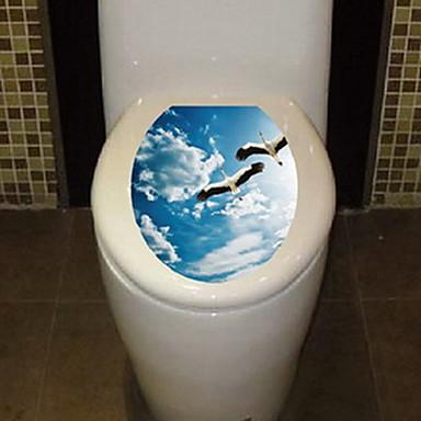 Mote fritid Veggklistremerker Fly vægklistermærker Dekorative Mur Klistermærker, Plast Hjem Dekor Veggoverføringsbilde Vegg