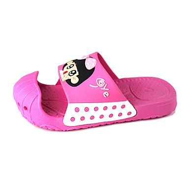 Jente sko PVC Vår Sommer Komfort Tøfler og flip-flops Til Avslappet Navyblå Blå Rosa