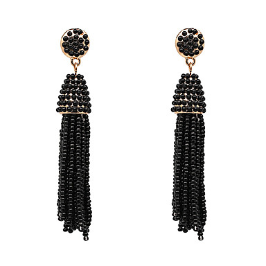 Women's Drop Earrings Jewelry Tassel Handmade Gothic Oversized Sexy Alloy Geometric Jewelry For Party Casual Stage Office & Career