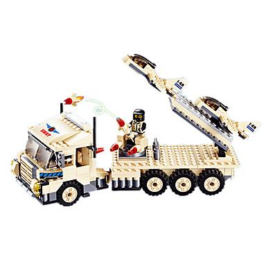 JIE STAR Carros de Brinquedo Blocos de Construir Caminhão Quadrada Aeronave Caminhão Para Meninos Unisexo Dom