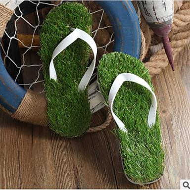 Men's Shoes PVC Summer Comfort Slippers & Flip-Flops For Casual White