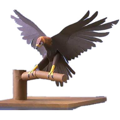 3D-puslespill Papirmodell Papirkunst Modellsett Kvadrat Fugl Ørn 3D Dyr simulering GDS Hardt Kortpapir Klassisk Unisex Gave