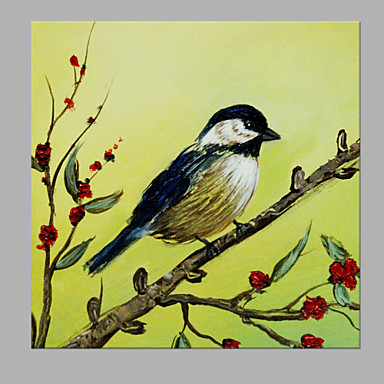 Oil Painting Hand Painted - Animals Artistic Canvas