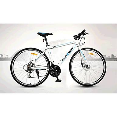Comfort Bike Cycling 21 Speed 26 Inch/700CC SAIGUAN EF-51 Disc Brake Non-Damping Aluminium Alloy Frame Ordinary/Standard Anti-slip