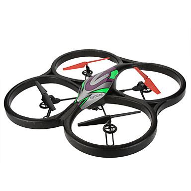 RC Drone WL Toys V666N 4CH 6 Eixos 2.4G Com Câmera Quadcópero com CR FPV Luzes LED Seguro Contra Falhas Modo Espelho Inteligente Flutuar