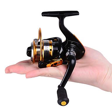 cheap Fishing Reels-Fishing Reel / Ice Fishing Reel Spinning Reel / Ice Fishing Reels 5.2:1 Gear Ratio+10 Ball Bearings Hand Orientation Exchangable Bait Casting / Ice Fishing / Spinning - DE150 / Freshwater Fishing