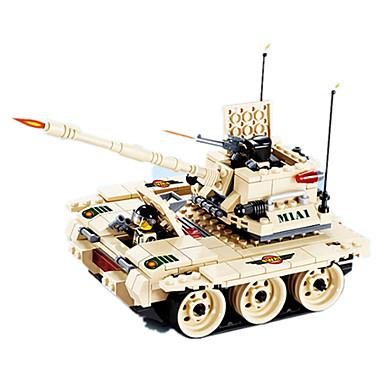 JIE STAR Blocos de Construir Brinquedos de Montar Quadrada Pato Tanque Aeronave Para Meninos Unisexo Dom