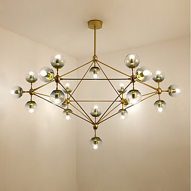 Sputnik Chandelier Ambient Light - Mini Style, 110-120V / 220-240V Bulb Not Included / 60㎡ or more / E26 / E27