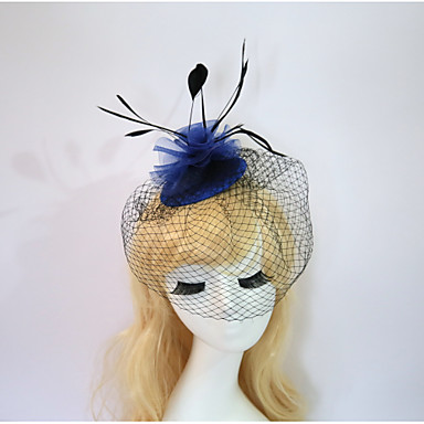 Resin Cotton Fascinators Flowers Hats 1 Wedding Special Occasion Birthday Party / Evening Headpiece