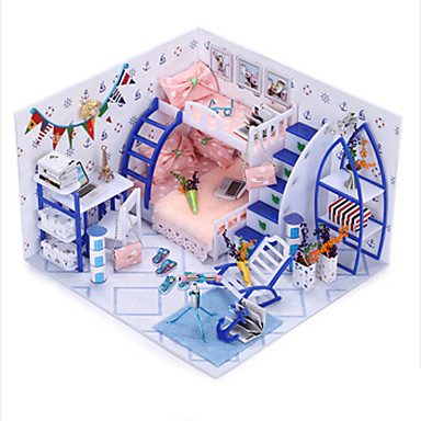 Spielhaus Spielzeuge Heimwerken Haus Holz Stücke Kinder Geburtstag Valentinstag Geschenk