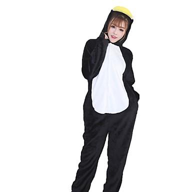 Kigurumi pizsama Pingvin Onesie pizsama Jelmez Φανελένιο Ύφασμα Narancssárga Cosplay mert Allati Hálóruházat Rajzfilm Halloween Fesztivál