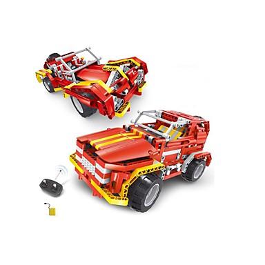 Távirányítós játékok Játékautók Építőkockák Autó Távirányító DIY Fiú Játékok Ajándék