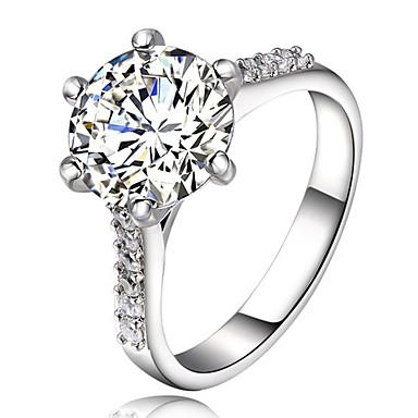 Damen Bandring Kristall Personalisiert Luxus Klassisch Grundlegend Sexy Liebe Elegant nette Art Modisch Krystall Aleación Geometrische