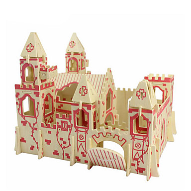 3D - Puzzle Holzpuzzle Holzmodell Spielzeuge Architektur 3D Heimwerken Simulation Holz Naturholz Unisex Stücke