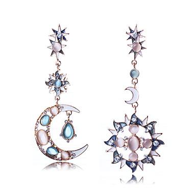 Women's Mismatched Mismatch Earrings - Luxury, Bikini, Fashion Light Blue For Wedding / Birthday / Gift