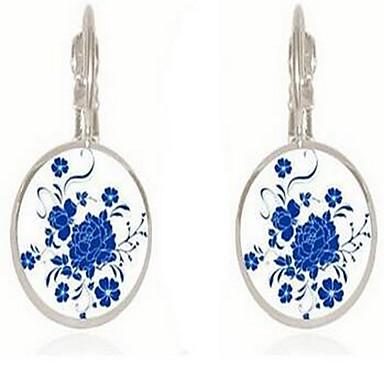 Damen Ohrringe Set Schmuck Basis Vintage Böhmen-Art Glas Runde Form Schmuck Für Sonstiges Verabredung Neujahr Ausgehen