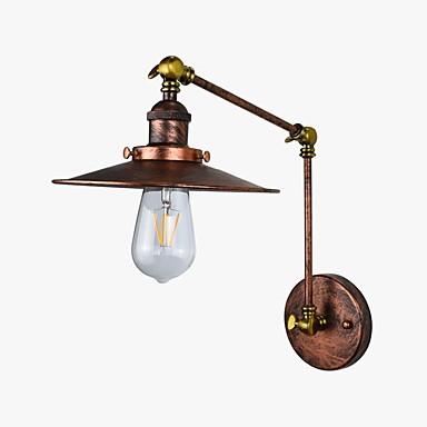Rusztikus Antik LED Fali lámpák Kompatibilitás Fém falikar 110-120 V 220-240 V 4W