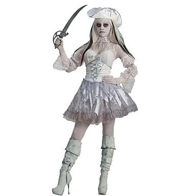 Zauberer/Hexe Vampire Seeräuber Cosplay Cosplay Kostüme Maskerade Frau Erwachsene Halloween Karneval Fest/Feiertage Halloween Kostüme