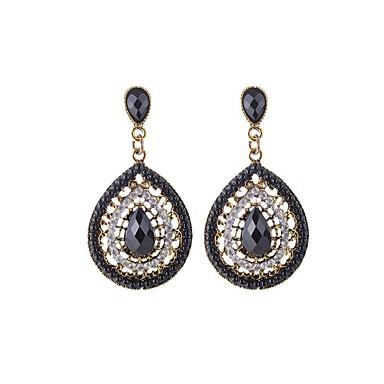 Women's Drop Earrings - Resin Drop Bohemian, Fashion, Boho Green / Blue / Light Blue For Daily