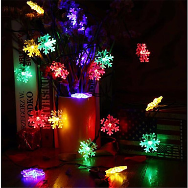 10m String Lights 60 LEDs RGB Waterproof 220 V / IP65