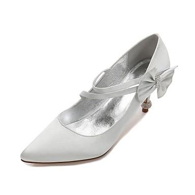 8d673c4461de7 cheap Wedding Shoes-Women's Wedding Shoes Kitten Heel / Cone Heel