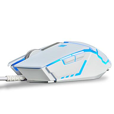 AJAZZ AJAZZ GTC 3050 Przewodowy/a Gaming Mouse Regulowany DPI Podświetlany Programowalny 500/1000/1500/2000/3000/4000