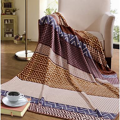 Webfaser Polka Dots Gemischte Polyester/Baumwolle Decken