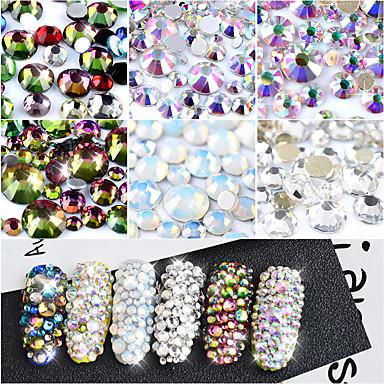 voordelige Nagelstrass & Decoraties-800 pcs Nagelsieraden Nagel kunst Manicure pedicure Dagelijks Modieus / Kynsien korut