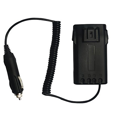 Új autós töltő akkumulátortöltő adapter wouxun rádióhoz kg-uvd1p kg-uv6d