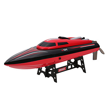RC Boot WL Toys H101 Schnellboot ABS 4 Kanäle 25 KM / H RTR