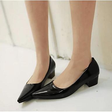 Damen Schuhe PU Sommer Komfort Loafers & Slip-Ons Für Normal Schwarz Gelb Blau