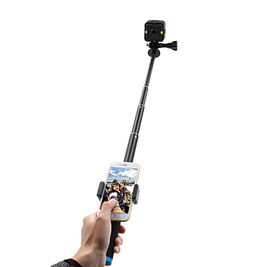 Telescopic Pole Outdoor Multi-function Non-Slip Scratch Resistant Wear-Resistant IP65 Waterproof For Action Camera Polaroid Cube Camping