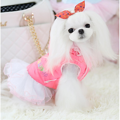 Hund Kleider Hundekleidung Lässig/Alltäglich Prinzessin Grün Rosa Kostüm Für Haustiere