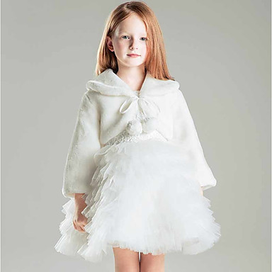 Faux Fur / Polyester Wedding / Party / Evening Kids' Wraps With Shrugs
