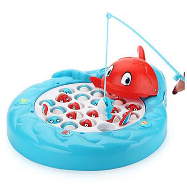 Magnetspielsachen Angeln Spielzeug Fische Magnetisch Elektrisch Heimwerken Kunststoff Kinder Geschenk 1pcs
