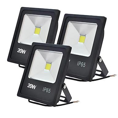 JIAWEN 20W LED projektorok Dekoratív Meleg fehér / Hideg fehér 85-265V Kültéri világítás / Garázs / parkoló
