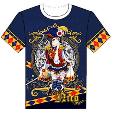 Inspiriert von Liebesleben Cosplay Anime Cosplay Kostüme Cosplay-T-Shirt Cartoon Design Kurzarm Top Für Herrn Damen