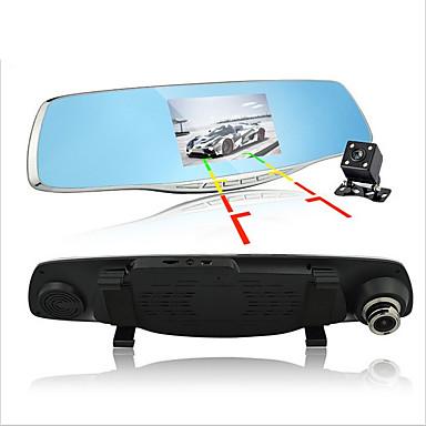 D860 1080p / Full HD 1920 x 1080 Autós DVR 170 fok Nagylátószögű 4.3 hüvelyk Dash Cam val vel G-Sensor / Parkolás mód / Mozgásérzékelés