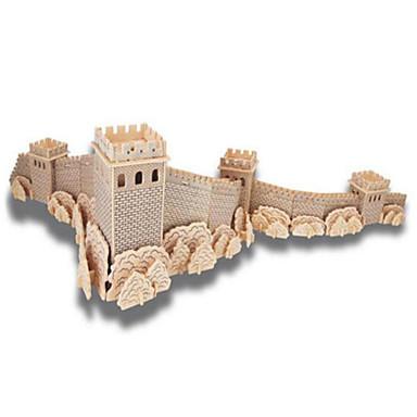 3D - Puzzle Holzpuzzle Holzmodelle Berühmte Gebäude Heimwerken Holz Naturholz Chinesischer Stil Kinder Unisex Geschenk