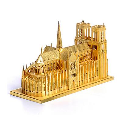 3D - Puzzle Holzpuzzle Berühmte Gebäude Architektur 3D Edelstahl Metal Unisex Geschenk