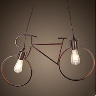 2-Light Függőlámpák Háttérfény Festett felületek Fém A tervezők 110-120 V / 220-240 V Az izzó nem tartozék / E26 / E27