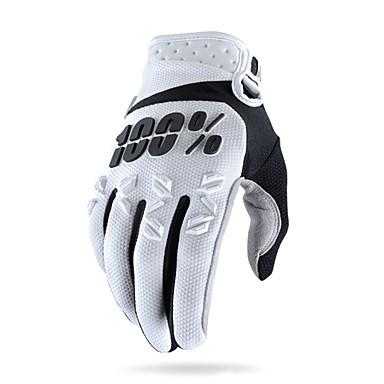 Vollfinger Unisex Motorrad-Handschuhe Kohlefaser Rasche Trocknung / Atmungsaktiv