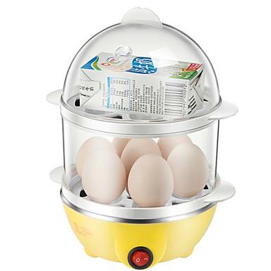 Eierkocher Single Eggboilers 2 in 1 Multifunktion Kreativ Licht und Bequem Ministil Leichtes Gewicht Abnehmbar 220V