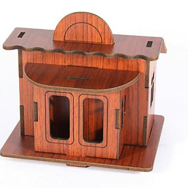 3D - Puzzle Holzpuzzle Architektur 3D Heimwerken Naturholz Kinder Unisex Geschenk