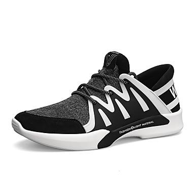 Férfi cipő Bőrutánzat Ősz / Tél Kényelmes Sportcipők Futócipő Fekete / Szürke / Tengerészkék
