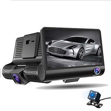 a32 1080p / Full HD 1920 x 1080 HD Car DVR 170 Degree Wide Angle 4 inch Dash Cam with Night Vision / G-Sensor / Parking Monitoring Car