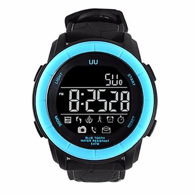 Intelligens Watch mert iOS / Android Hosszú készenléti idő / Vízálló / Távolságmérés / Lépésszámlálók / Információ Stopper / Dugók & Töltők / Lépésszámláló / Hívás emlékeztető / Testmozgásfigyelő
